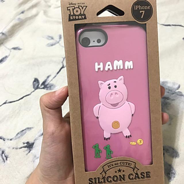 迪士尼正版 玩具總動員 火腿豬 iphone7手機殼