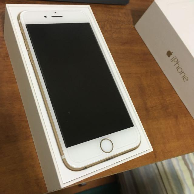 看清楚 被鎖機了 Apple iPhone 6 4.7吋 16g 金色