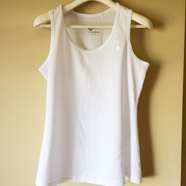 Active Wear White Top