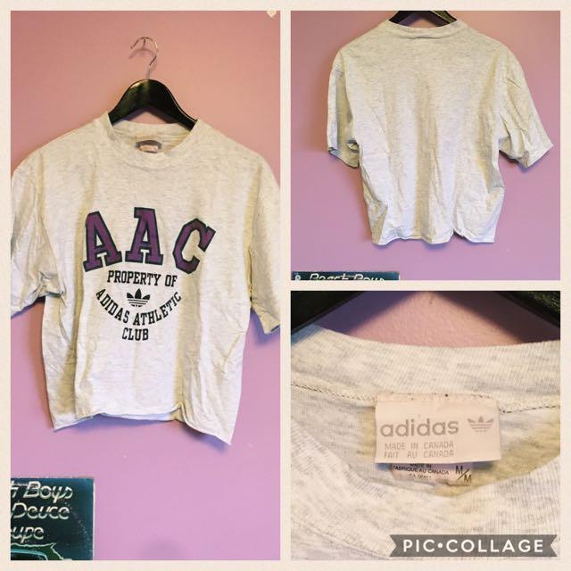 Adidas Cropped Tshirt