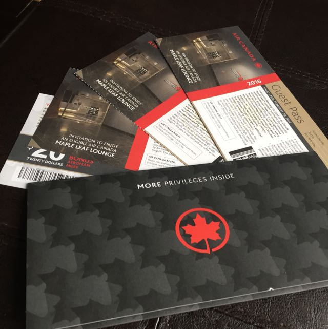 Air Canada Maple Leaf Lounge Tickets For Sale