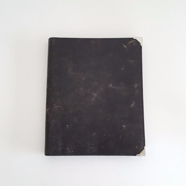 Alexander Wang Prisma Ipad Case Distressed Black (Skeletal)
