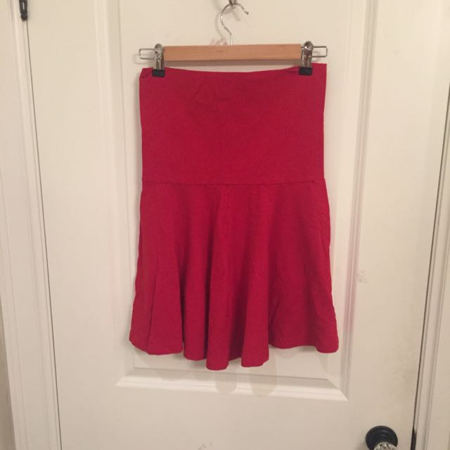 American Apparel Fold Over Skirt