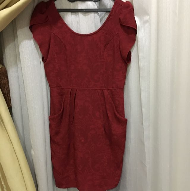 Arithalia Red Dress Size L