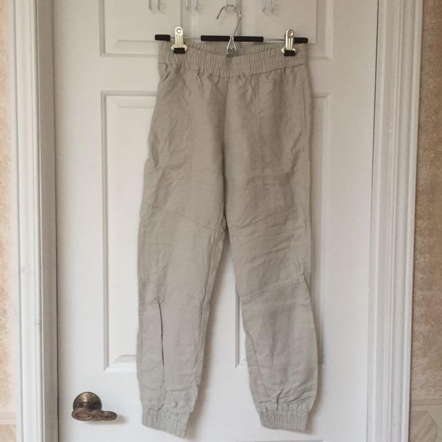 Aritzia Babaton Elastic-waist Pants