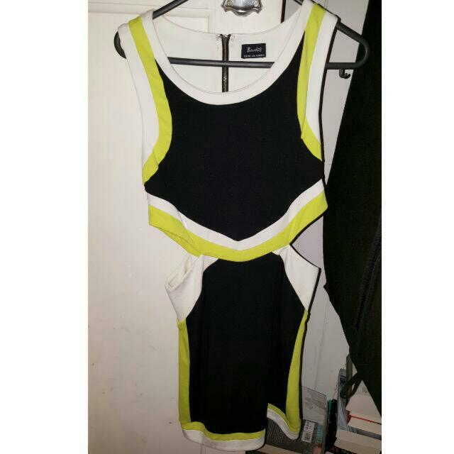 Bardot Cutout Dress 10