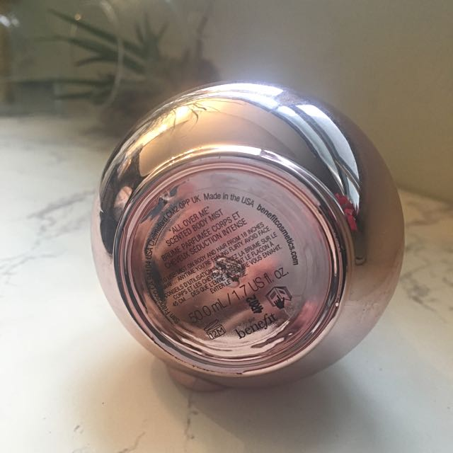 Benefit Just Confess You're Obsessed Body Mist