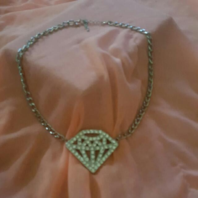 Blingtastic Faux Diamond Necklace