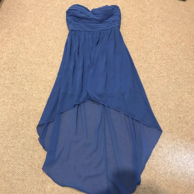 Blue Forcast Dress