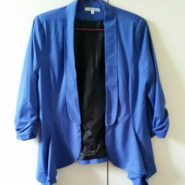 Blue Valley Girl Formal Jacket - Size 10