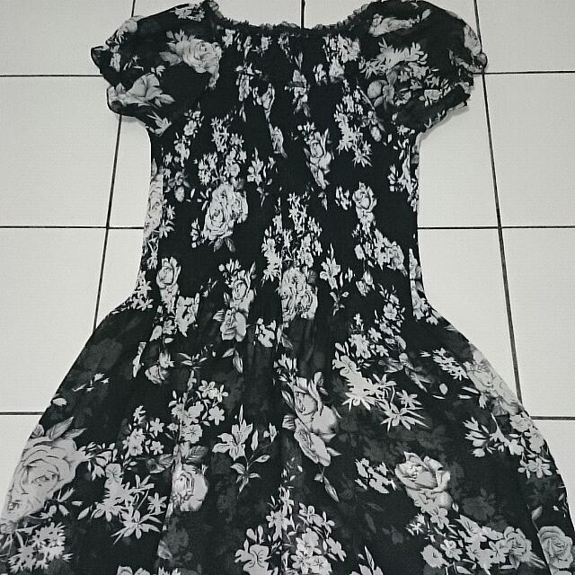 Bw Flower Dress
