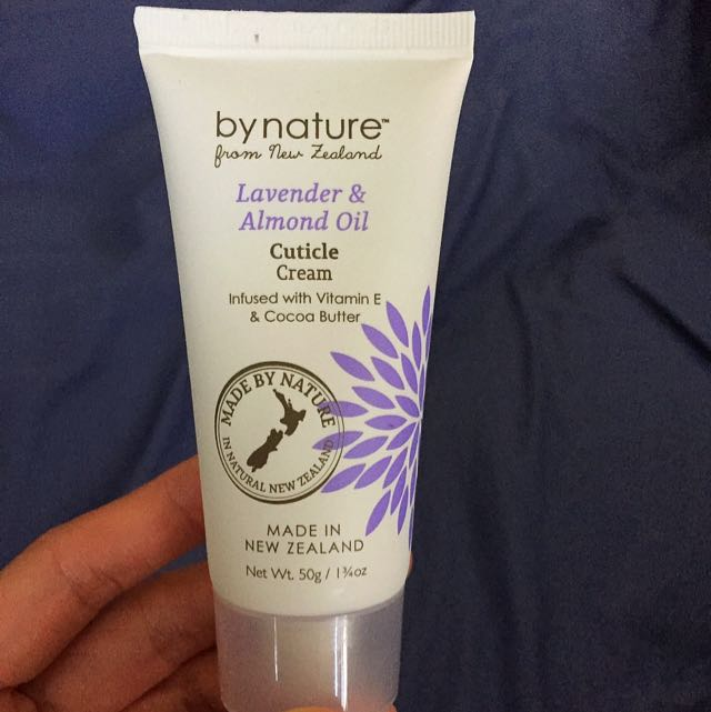 By Nature Cuticle Cream