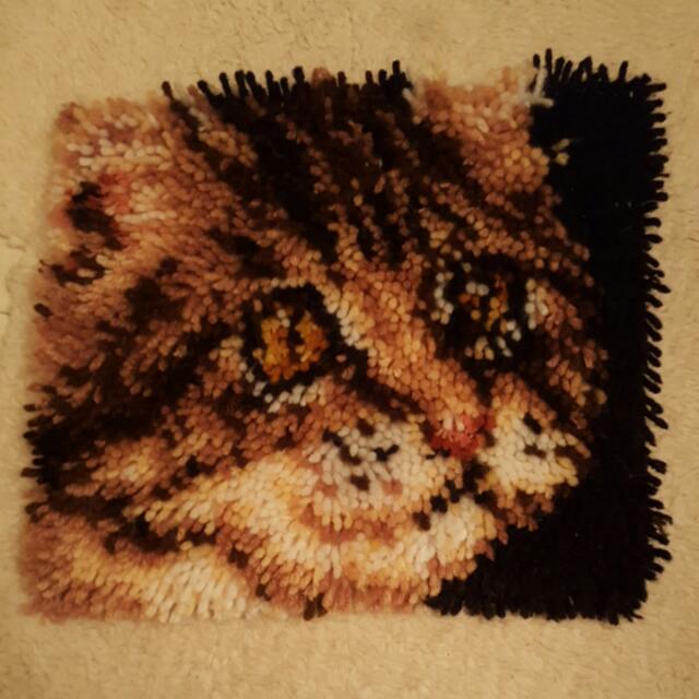 Cat Hook Rug