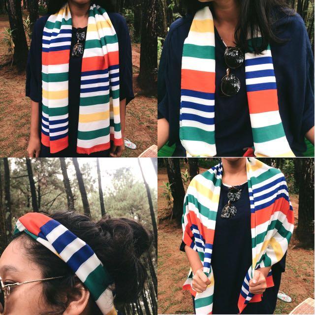 Colorful Stripes Scraf