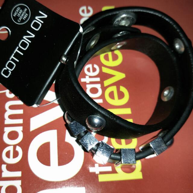 COTTON ON Hardware Wrap Bracelet