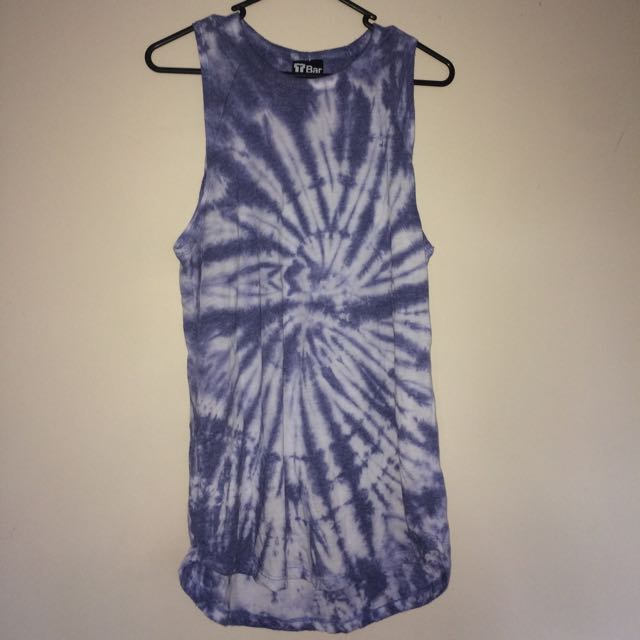 Cotton On/ T-Bar Tie-dye top