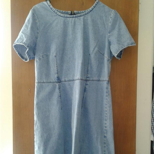 Denim Dress Dotti Size 12