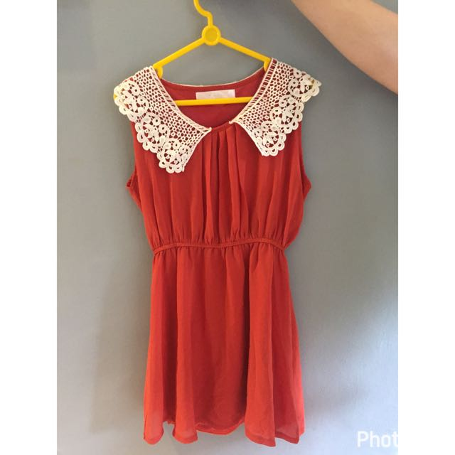Reprice Red Dress