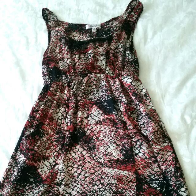 Dress Ft. Front Pockets