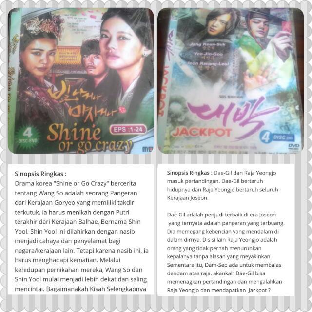 DVD SERIAL KOREA