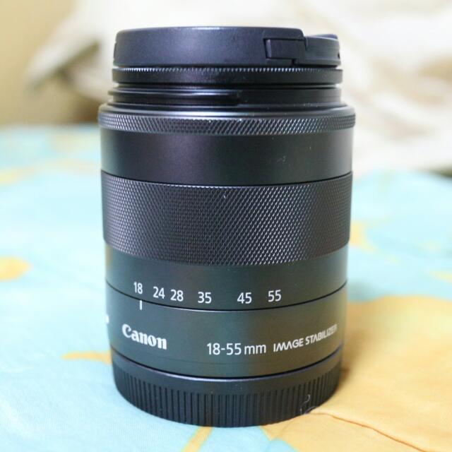 Canon 佳能 Eos M  18-55 mm 標準鏡 Kit鏡
