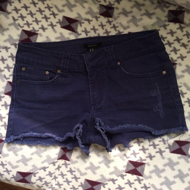 Forever21 Blue Short
