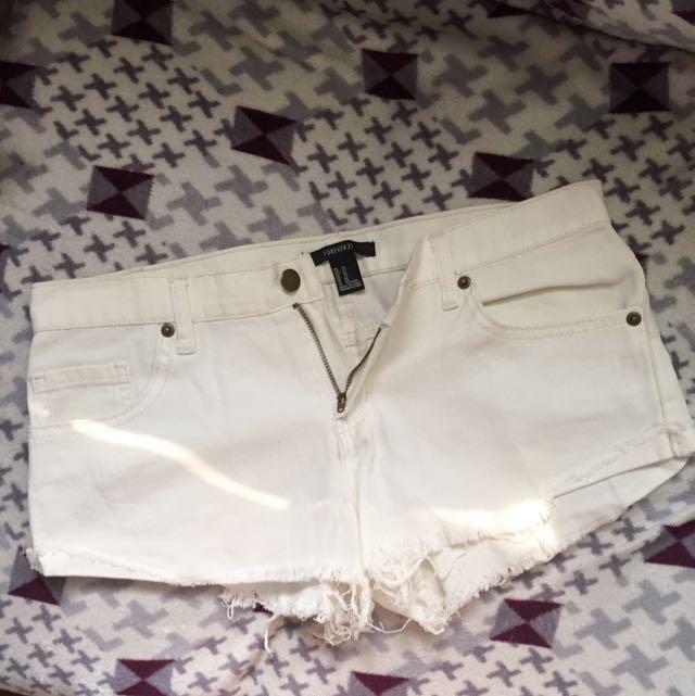Forever21 White Short