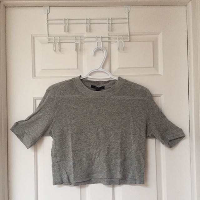 Forever 21 Knit Crop Top