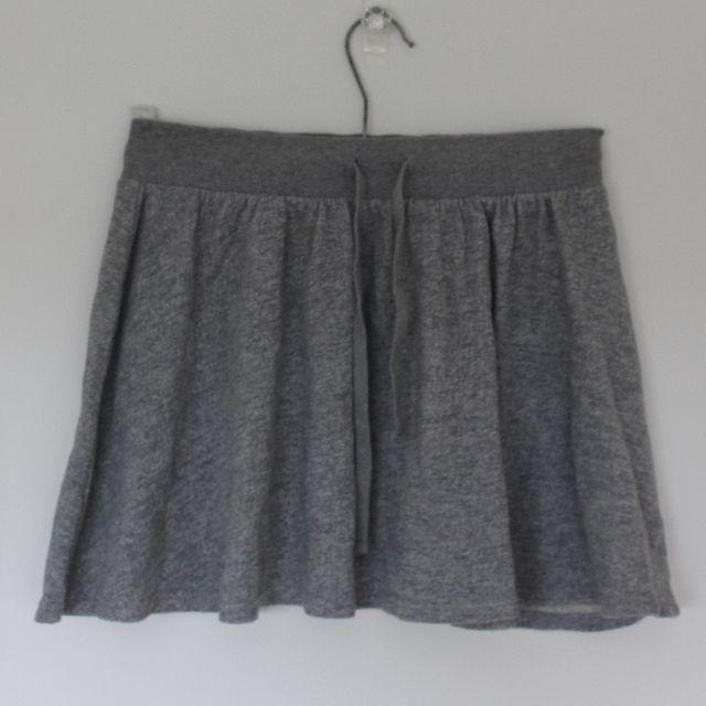 Forever 21 sportsluxe grey miniskirt