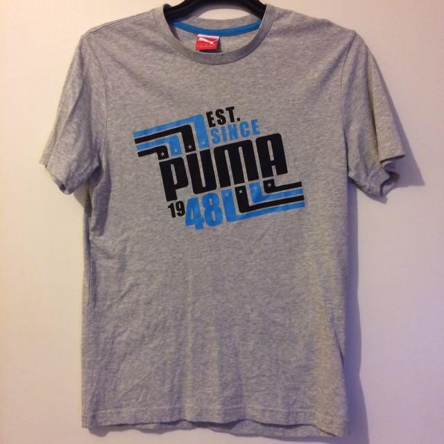 Grey Puma Shirt (Size S)