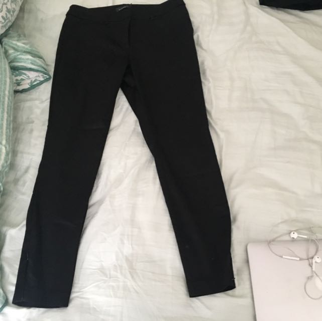 Highwaisted Black Pants