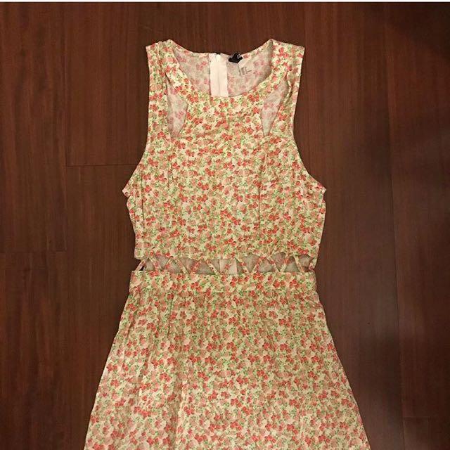 H&M Cut Out Dress