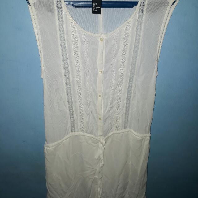 H&M White Dress