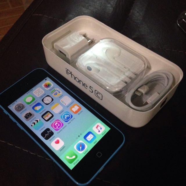 Rush iPhone 5c 16gb BLUE