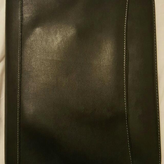 J Burrows A4 Leather Folder