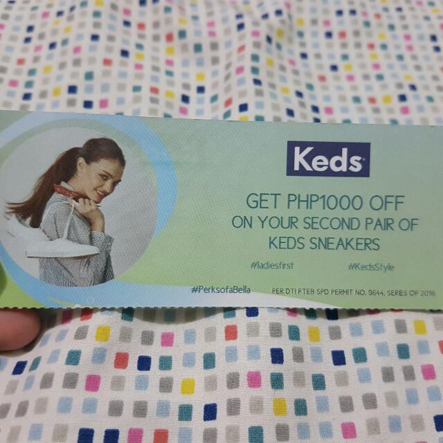 Keds Discount Coupon / Gift Voucher