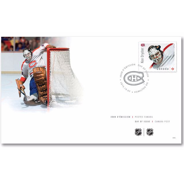 Ken Dryden Montreal Canadiens Hockey Goalies - Canada First Day Cover