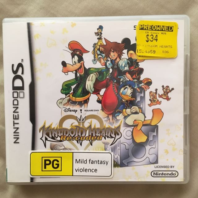 Kingdom Hearts: Recoded Nintendo 3DS
