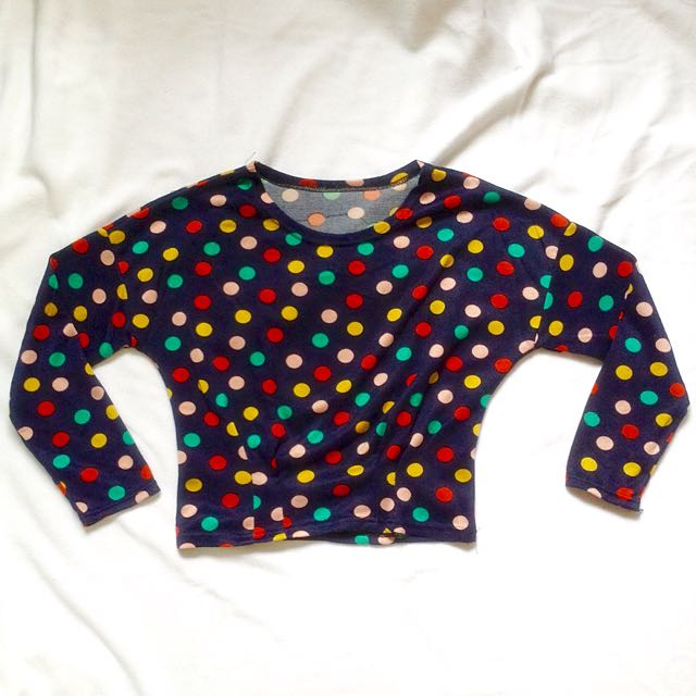Knit Long Sleeve Pullover