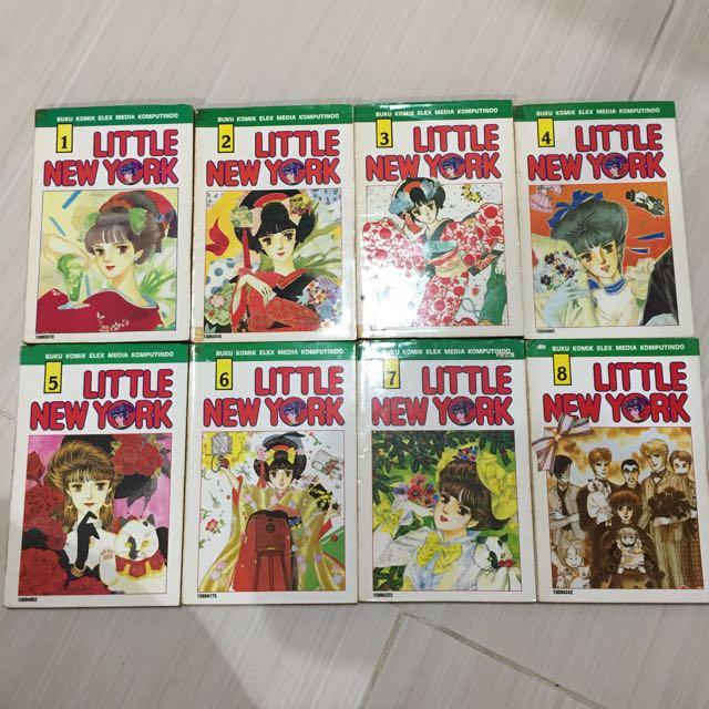 Komik Langka Little New York 1-8 Tamat