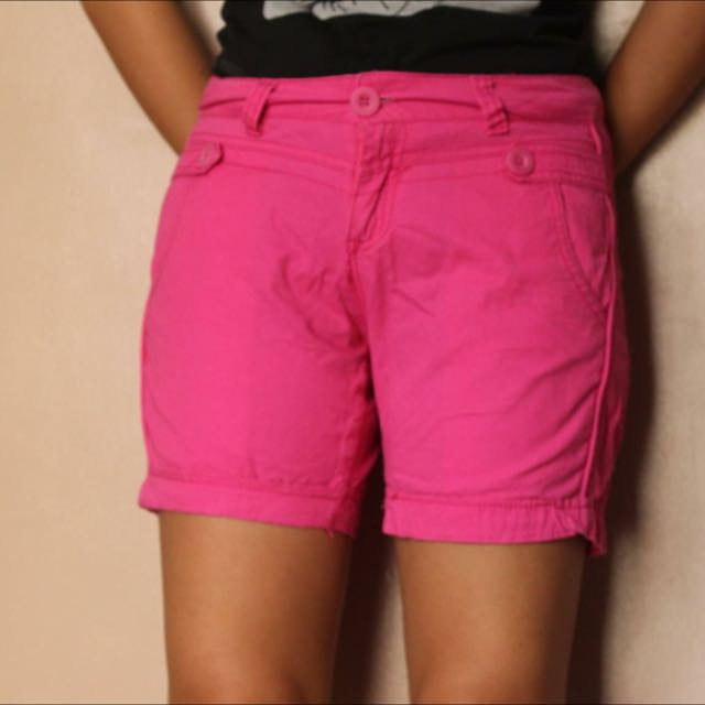 Korean Pink Shorts