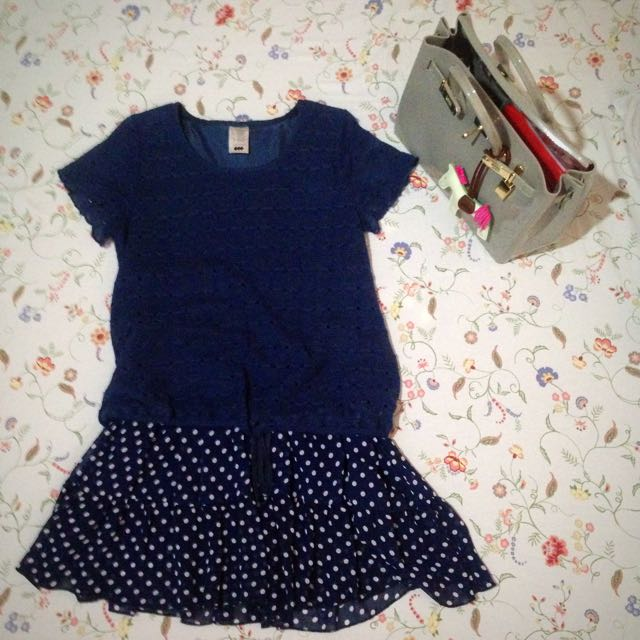 Lady Story Polka Dress