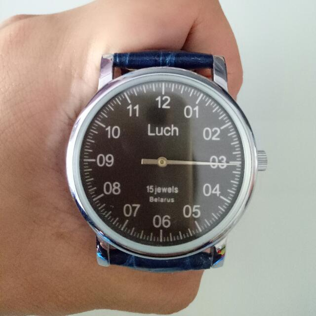Luch Single Hand Watch, Men's Fashion, Watches on Carousell
