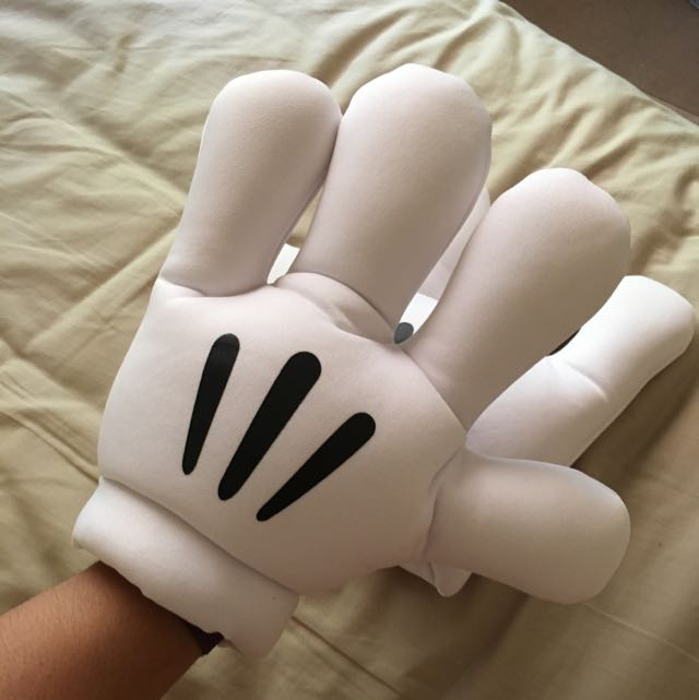 Mickey Mouse Costume Gloves