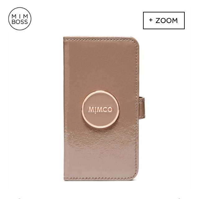 Mimco Nude/ Rose Gold iPhone 7 Wallet Case