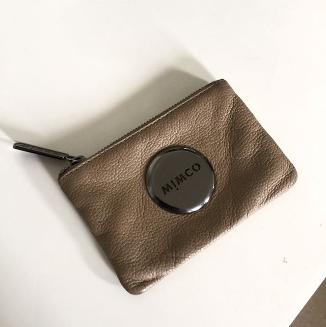 MIMCO Small Leather MIM Pouch