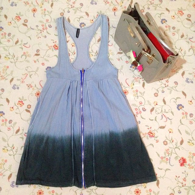 NafNaf Denim Dress