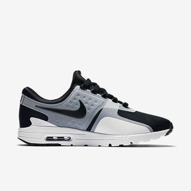Nike Air Max Zero (Women) - White/Black
