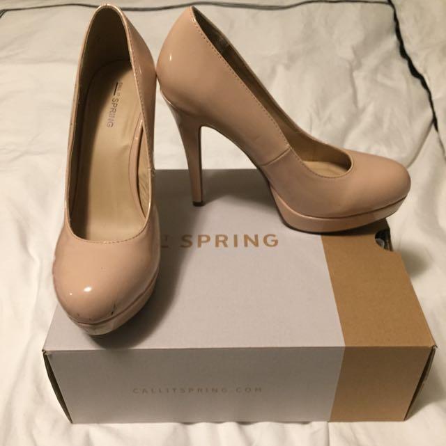 Nude Heel (Size 9)