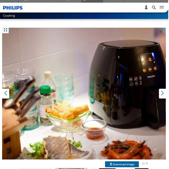 PHILIPS Airfryer Air Fryer XL HD9240/90